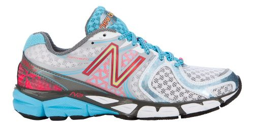 Womens New Balance 1260v3 Running Shoe - White/Blue 5