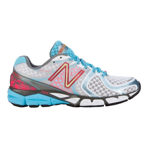 Womens New Balance 1260v3 Running Shoe - White/Blue 7.5
