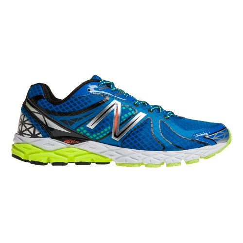 Mens New Balance 870v3 Running Shoe - Blue/Black 12.5