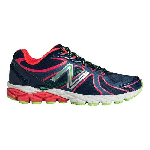Womens New Balance 870v3 Running Shoe - Blue/Pink 7.5