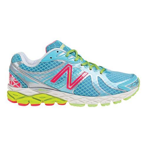 Womens New Balance 870v3 Running Shoe - Blue/Silver 7.5
