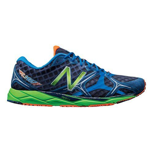 Mens New Balance 1400v2 Running Shoe - Blue/Green 4