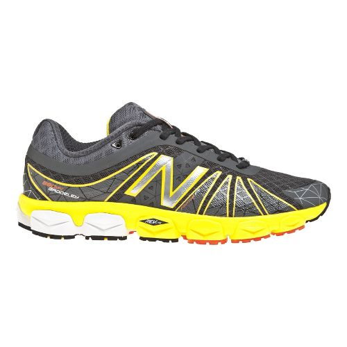 Mens New Balance 890v4 Running Shoe - Atomic Yellow/Magnet 14