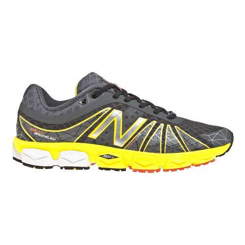 Mens New Balance 890v4 Running Shoe - Atomic Yellow/Magnet 9
