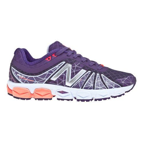 Womens New Balance 890v4 Running Shoe - Purple 5