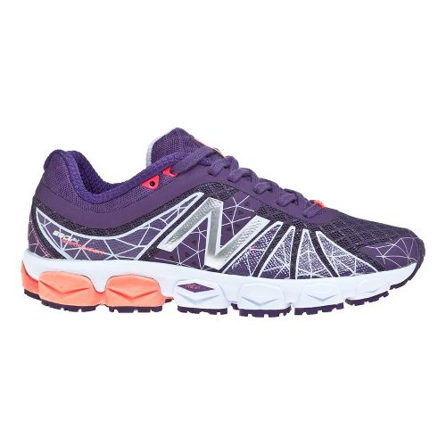 Womens New Balance 890v4 Running Shoe - Purple 7