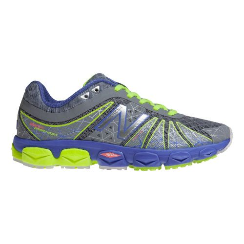 Womens New Balance 890v4 Running Shoe - Silver/Periwinkle 6