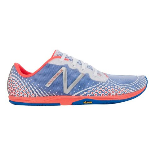 Womens New Balance Minimus Zero v2 Running Shoe - White/Coral 5.5