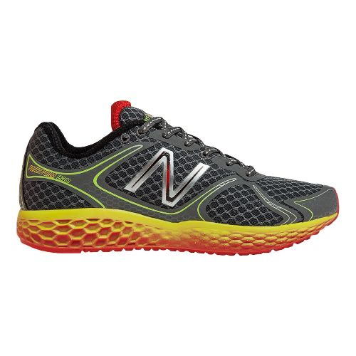 Mens New Balance Fresh Foam 980 Running Shoe - Grey/Red 8.5