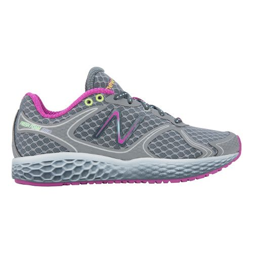 Womens New Balance Fresh Foam 980 Running Shoe - Grey/Purple 9