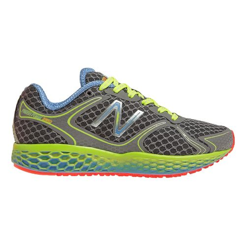Womens New Balance Fresh Foam 980 Running Shoe - Grey/Yellow 10.5