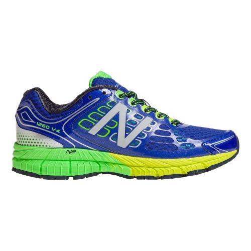 Mens New Balance 1260v4 Running Shoe - Blue/Green 7.5