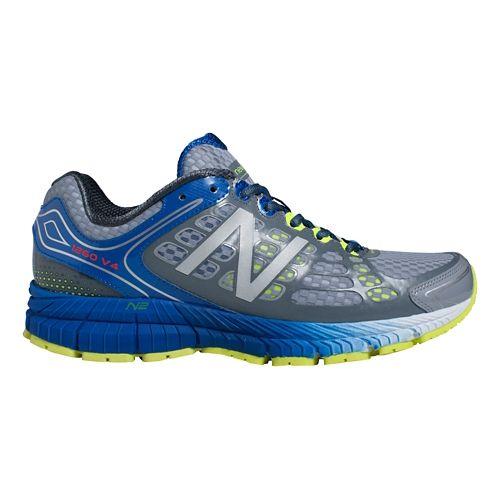 Mens New Balance 1260v4 Running Shoe - Grey/Blue 12