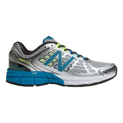 Mens New Balance 1260v4 Running Shoe - Silver/Blue 9