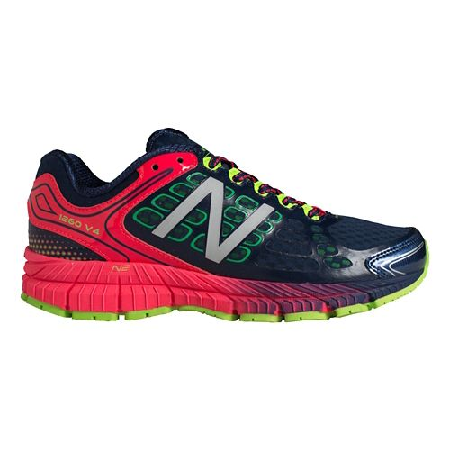 Womens New Balance 1260v4 Running Shoe - Blue/Pink 10