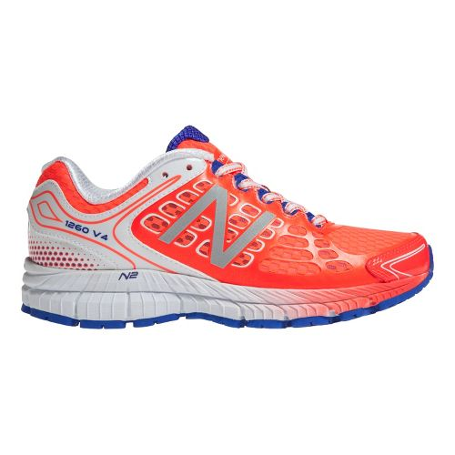 Womens New Balance 1260v4 Running Shoe - Coral/White 12