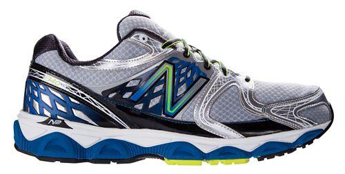 Mens New Balance 1340v2 Running Shoe - Silver/Blue 11.5