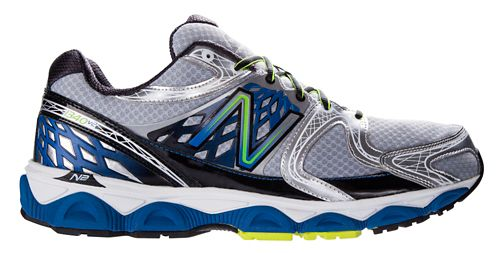 Mens New Balance 1340v2 Running Shoe - Silver/Blue 9.5