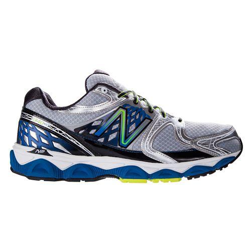 Mens New Balance 1340v2 Running Shoe - Silver/Blue 10