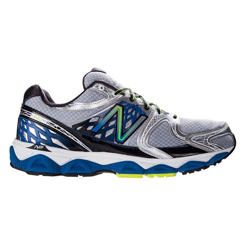 Mens New Balance 1340v2 Running Shoe - Silver/Blue 8.5