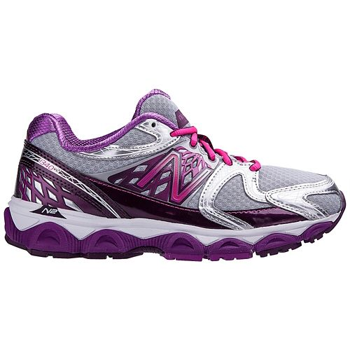 Womens New Balance 1340v2 Running Shoe - Silver/Pink 7.5