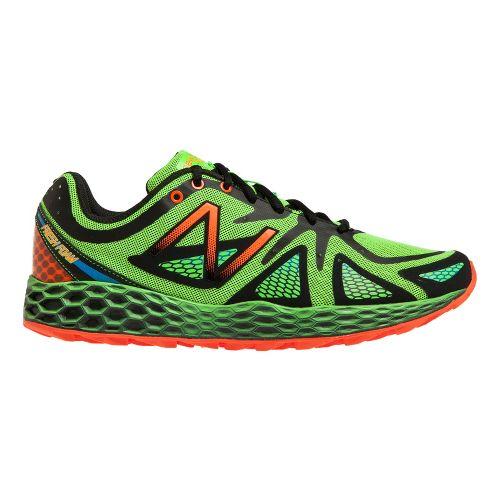 Mens New Balance Fresh Foam 980 Trail Trail Running Shoe - Green/Black 13