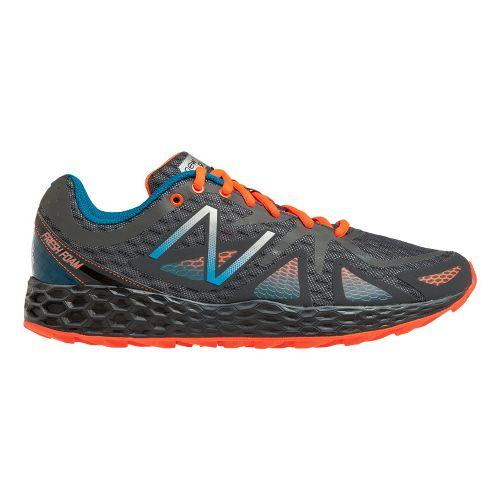Mens New Balance Fresh Foam 980 Trail Trail Running Shoe - Grey/Orange 8.5