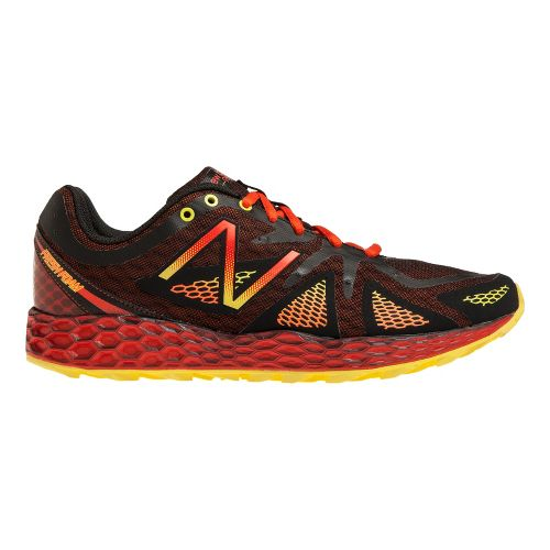 Mens New Balance Fresh Foam 980 Trail Trail Running Shoe - Red/Black 9.5