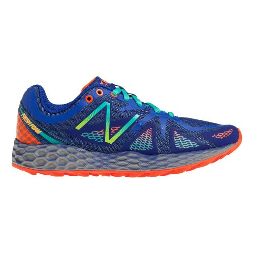 Womens New Balance Fresh Foam 980 Trail Trail Running Shoe - Blue/Green 7.5