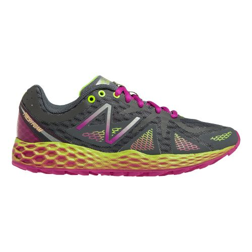 Womens New Balance Fresh Foam 980 Trail Trail Running Shoe - Grey/Purple 6.5