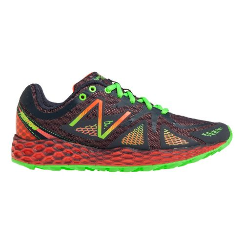 Womens New Balance Fresh Foam 980 Trail Trail Running Shoe - Orange/Black 10.5