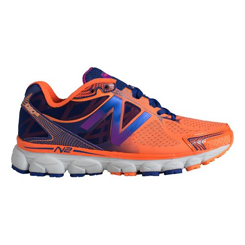 Womens New Balance 1080v5 Running Shoe - Citrus/Spectrum 5