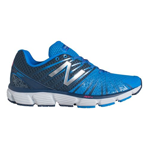 Mens New Balance 890v5 Running Shoe - Blue/White 9.5