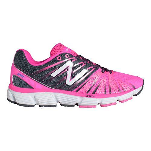 Womens New Balance 890v5 Running Shoe - Pink/White 10