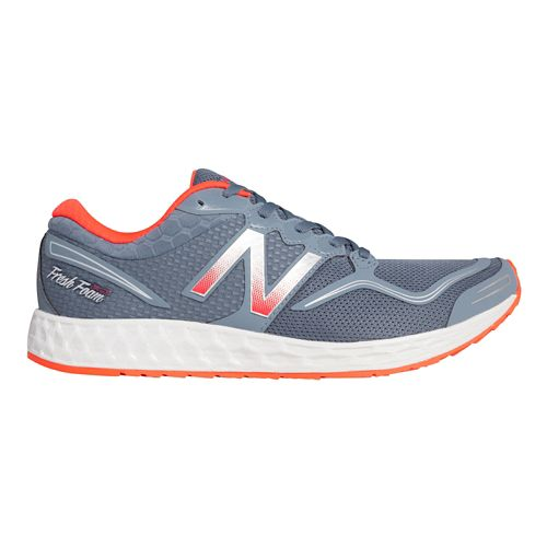 Mens New Balance Fresh Foam Zante Running Shoe - Blue/Red 13
