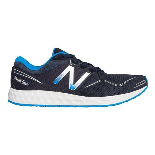 Mens New Balance Fresh Foam Zante Running Shoe - Navy/Blue 7.5