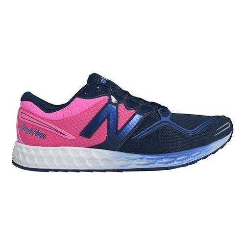 Mens New Balance Fresh Foam Zante Running Shoe - Blue/Pink 13