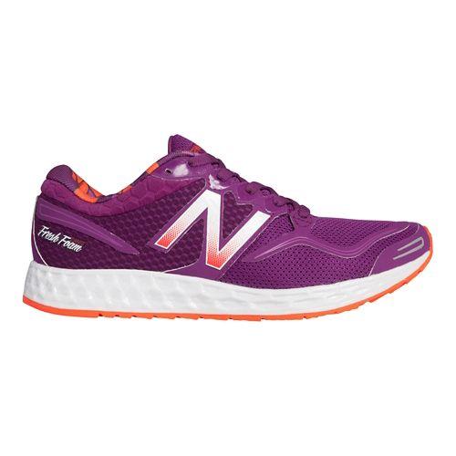 Womens New Balance Fresh Foam Zante Running Shoe - Purple/Pink 8.5