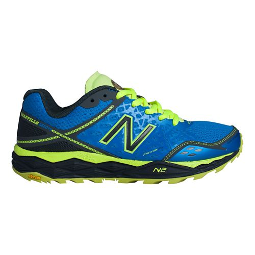 Men's New Balance T1210v2 Trail Running Shoe - Orca/Acidic Green 9