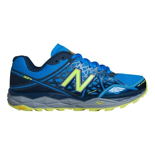 Men's New Balance T1210v2 Trail Running Shoe - Dark Saphire/Electric Blue 12.5