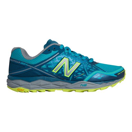 Womens New Balance 1210v2 Trail Running Shoe - Teal/Grey 6.5