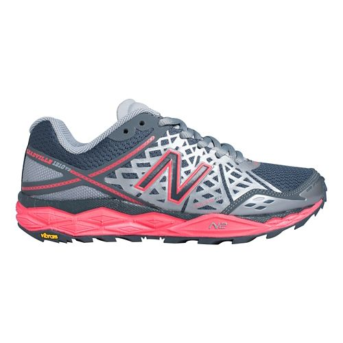 Women's New Balance 1210v2 Trail Running Shoe - Grey/Cherry 10.5