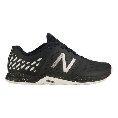 Womens New Balance Minimus 20v4 Trainer Cross Training Shoe - Black/Silver 11