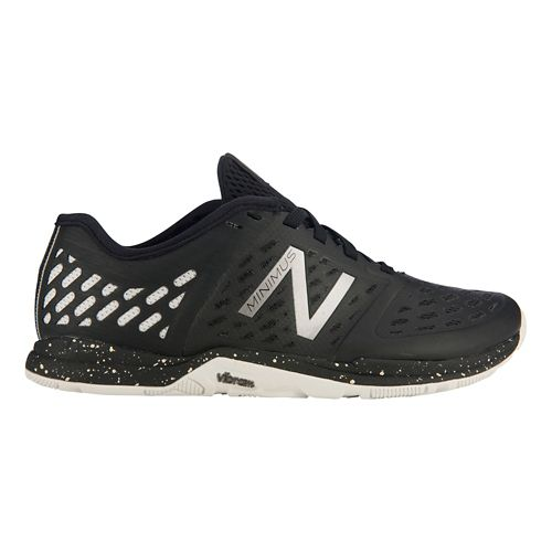 Women's New Balance Minimus 20v4 Trainer Cross Training Shoe - Black/Silver 5.5