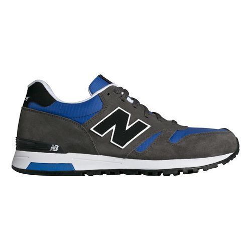 Mens New Balance 565 Casual Shoe - Grey/Blue 9.5