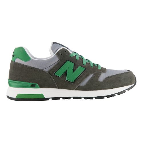 Mens New Balance 565 Casual Shoe - Grey/Green 10.5