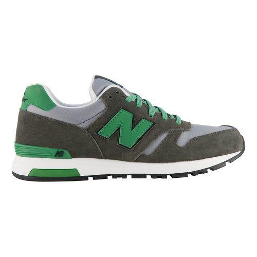 Mens New Balance 565 Casual Shoe - Grey/Green 14