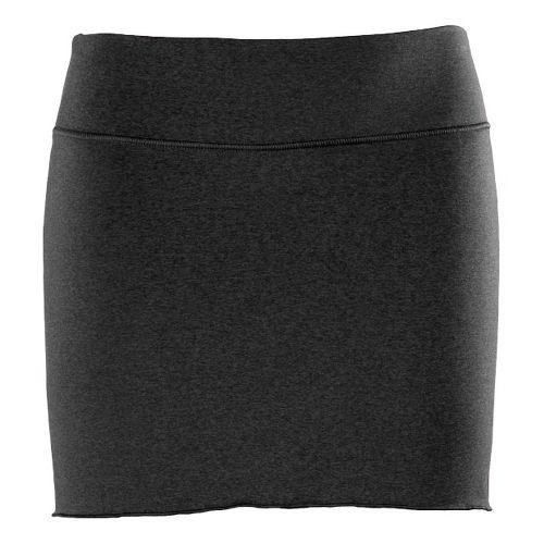 Womens New Balance Arise Skort Fitness Skirts - Black/Heather L