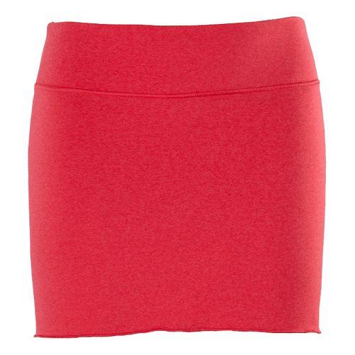 Womens New Balance Arise Skort Fitness Skirts - Dark Pink M