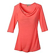Womens New Balance Chai 3/4 Sleeve Top Long Sleeve No Zip Technical Tops